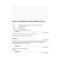 NURS 6512N Midterm Exam 1 (Fall 2019 - 95/100 Points)
