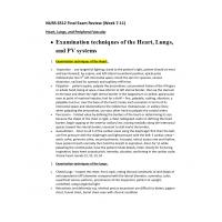 NURS 6512N Week 11 Final Exam Review 1 (Week 7 to 11)