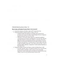 NURS 6512N Week 11 Final Exam Review 3 - Week 7 to 11