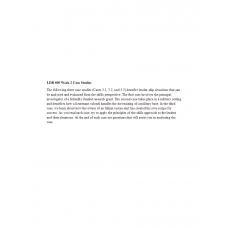 LDR 600 Week 2 Case Studies 3