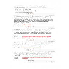 NURS 6640 Final Exam 2
