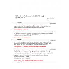 NURS 6640 Midterm Exam 1