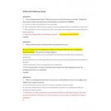 NURS 6630 Midterm Exam 1