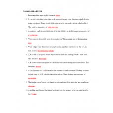 NSG 6020 APEA Exam HEENT