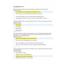 NSG 6020 Week 5 Midterm Exam 1