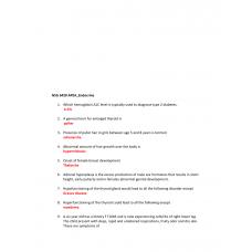 NSG 6420 APEA Endocrine