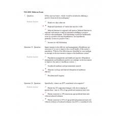 NSG 6001 Midterm Exam 3