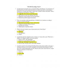 NSG 6001 Week 3 Knowledge Check