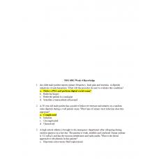 NSG 6001 Week 4 Knowledge Check 1
