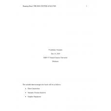 EED 475 Week 2 Assignment, Vocabulary Scenario: 2019