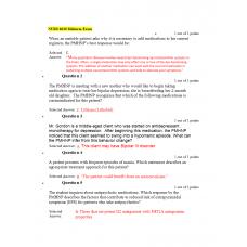 NURS 6630 Midterm Exam 2