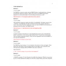 NURS 6640 Midterm Exam 3