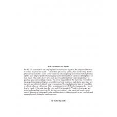 NUR 514 Week 2 Assignment, Self Assessment Paper