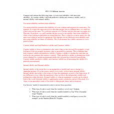 PSY 550 Midterm Exam 2