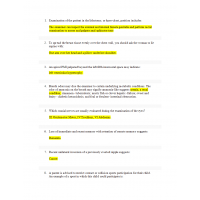 NURS 6512N Final Exam 20 - Question and Answers