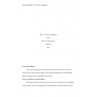 HLT 555 Week 4 Benchmark Assignment, Global Warming and Vector-Borne Disease Part 1 Illustration - Lyme