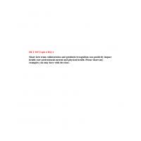 HLT 305 Topic 6 DQ 4: Spring 2020