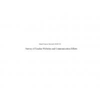 ELM 510 Week 6 Assignment Survey of Teacher Websites and Communication Efforts