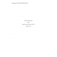 ELM 510 Week 6 Benchmark, Classroom Management and Communication
