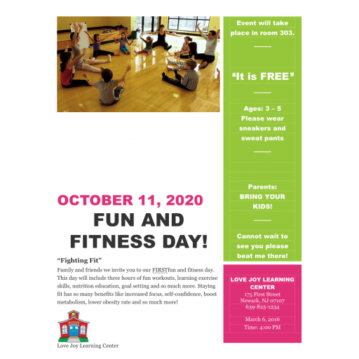 ECH 235 Week 6 Assignment Fun and Fitness Field Day: 2020