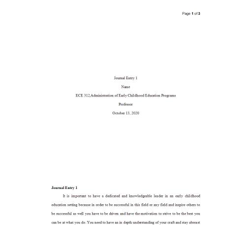 ECE 312 Week 1 Journal: 2020