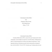 NR 283 Week 6 RUA, Understanding Clostridium Difficile