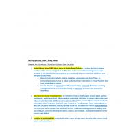 NR 283 Week 7 Pathophysiology Exam 3 Study Guide