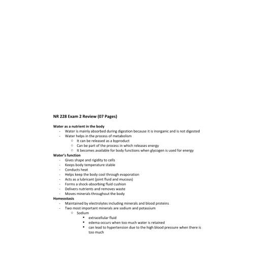 NR 228 Exam 2 Review