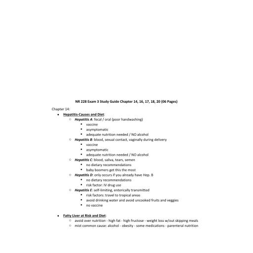 NR 228 Exam 3 Study Guide