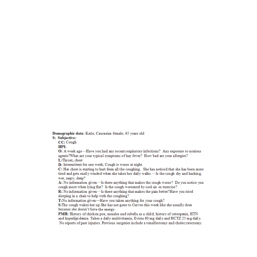 NR 511 Evidence Based Practice, Neurological Problems, and Eyes, Ears, Nose and Throat Problem - Discussion