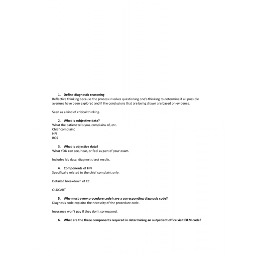 NR 511 Week 1 Assignment, Clinical Readiness Exam