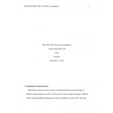 HLT 306 Week 3 Topic 3 Assignment, Homework