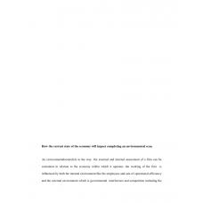 AMP 425 Week 1 Assignment, Environmental Scan 2
