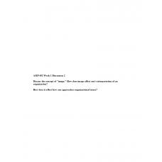 AMP 492 Topic 1 Discussion 2