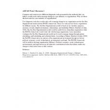 AMP 492 Topic 3 Discussion 2