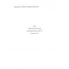 HLT 520 Week 3 Assignment, Candler v