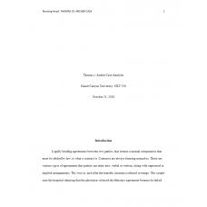 HLT 520 Week 3 Assignment, Candler v. Persaud Case Study