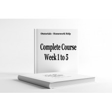 NRS 440VN Entire Course Week 1 to 5, Assignment, Discussion Question