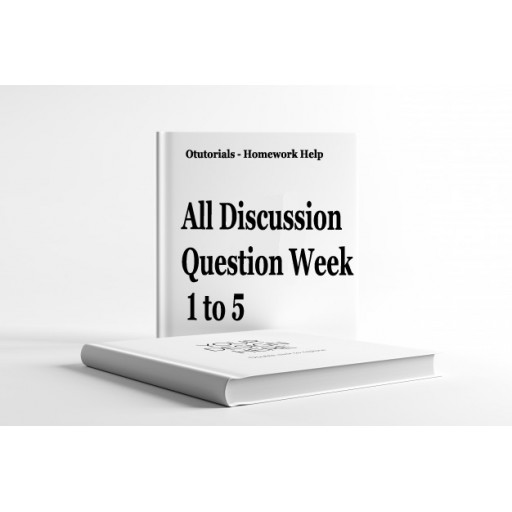 NRS 429VN Discussion Questions with Answers Week 1 to 5: Summer 2020