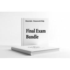 NSG 6001 Complete Package - Midterm Exam, Quiz, Final Exam