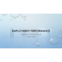 PSY 665 Week 6 Assignment, Employment Performance